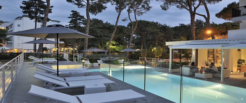 Erica Hotel Lignano Pineta: vicino al mare, piscina e spiaggia gratis